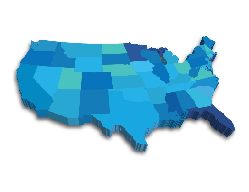 DataLink United States Map
